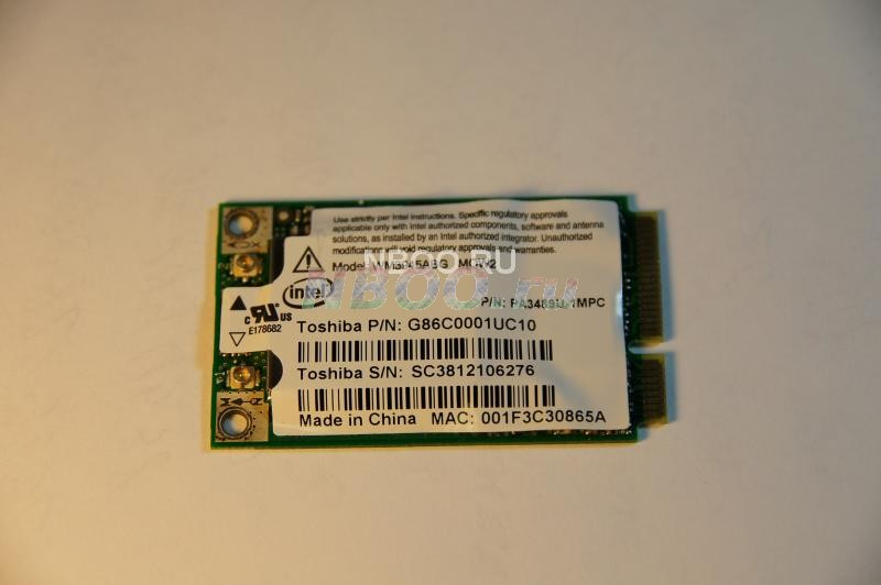 WiFi модуль  Intel WM3945ABG