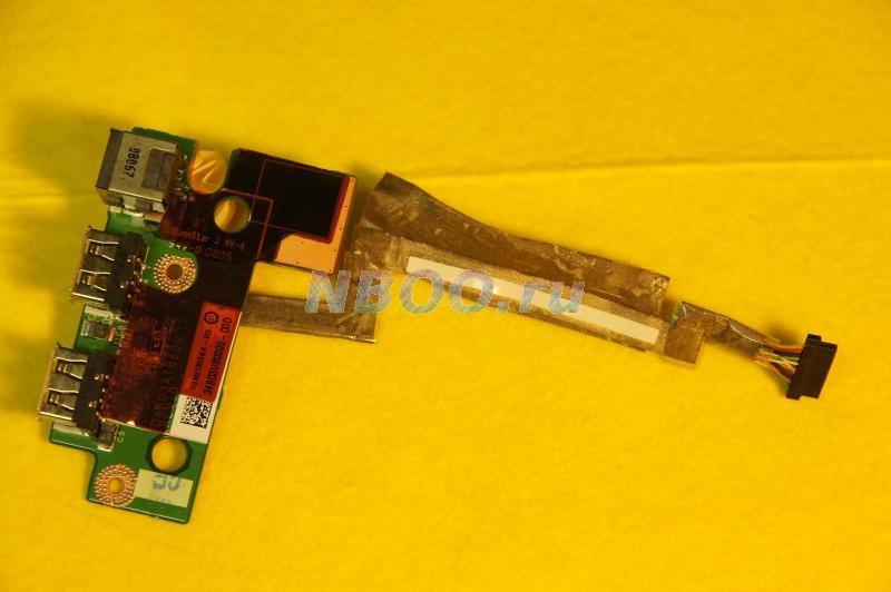 Панель USB-разъемов со шлейфом для Toshiba A300-149