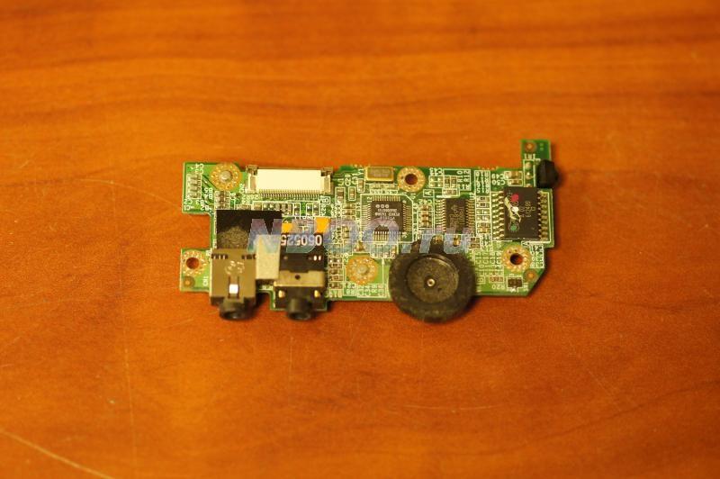 Панель звукового кодека с регулятором громкости и выходами Fujitsu-SIEMENS Amilo A1667G
