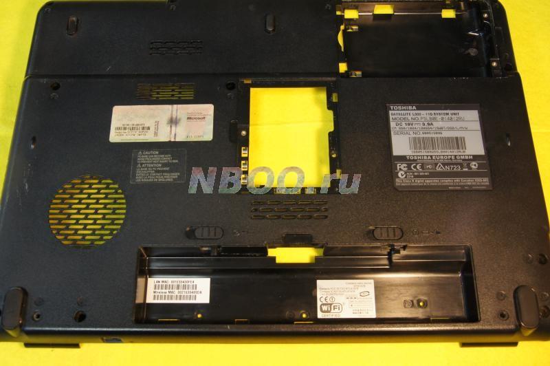 Нижняя крышка корпуса Toshiba L300-11Q