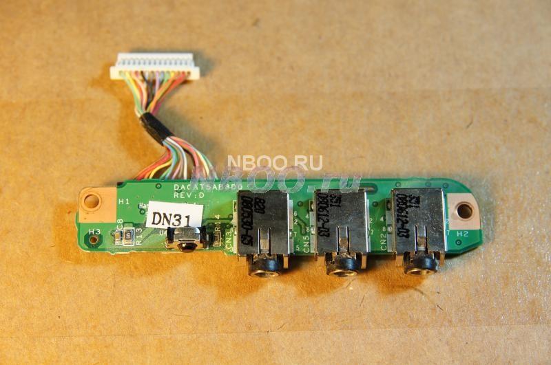 Панель Аудио Выходы / Микрофон HP Dv9700