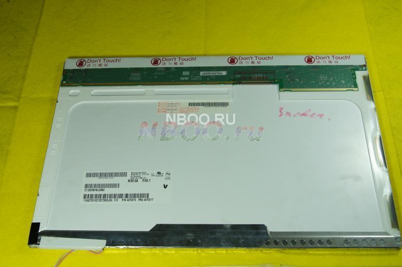 Матрица  15.4'  AU Optronics  CCFL  B154EW01