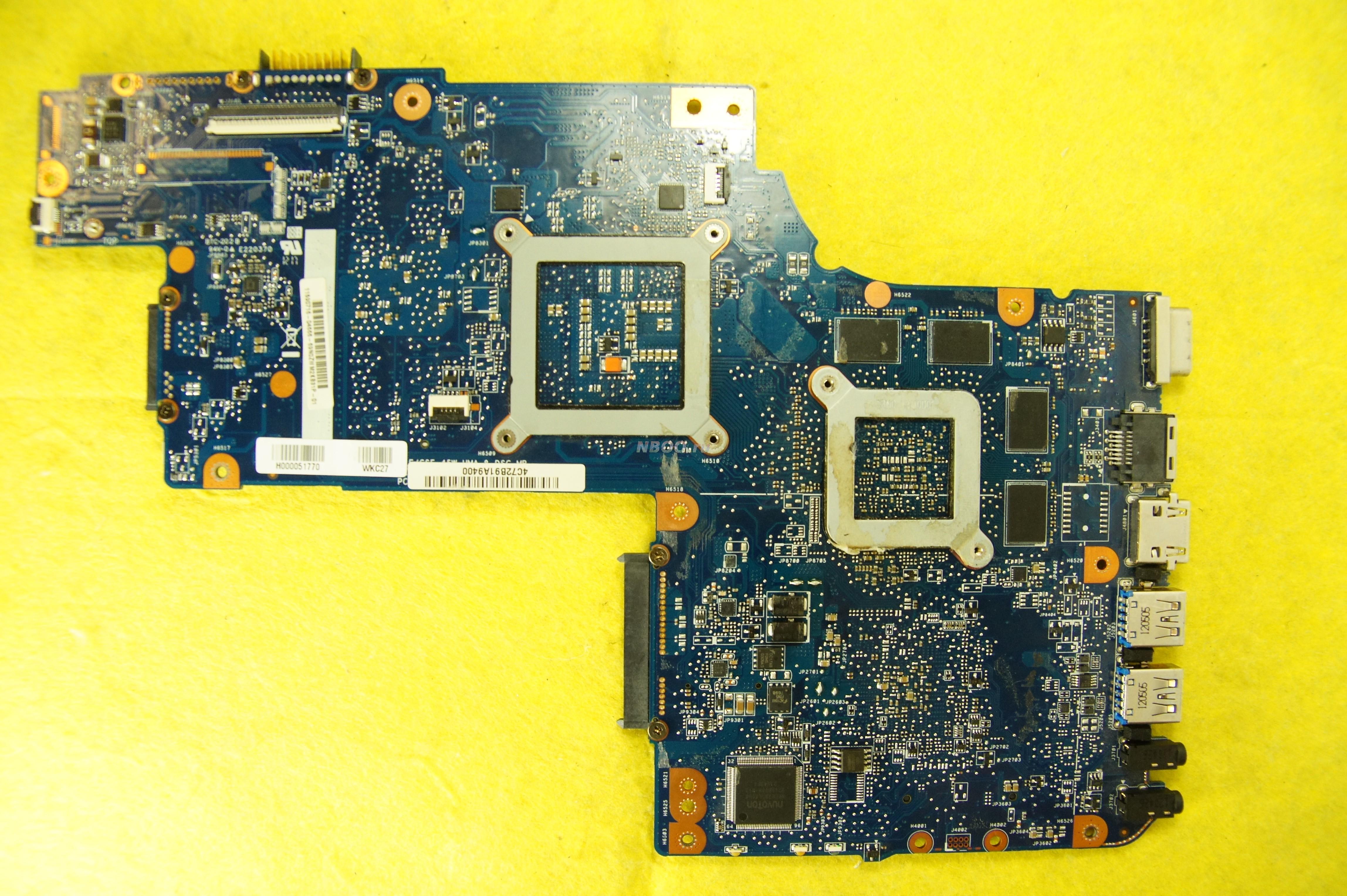 Материнская плата PLF/CSF / HM76 / HD6770 / 2GB для Toshiba Satellite C850, L850