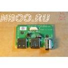 Панель с разъемами USB, TV-Out от Fujitsu Siemens Amilo D7850